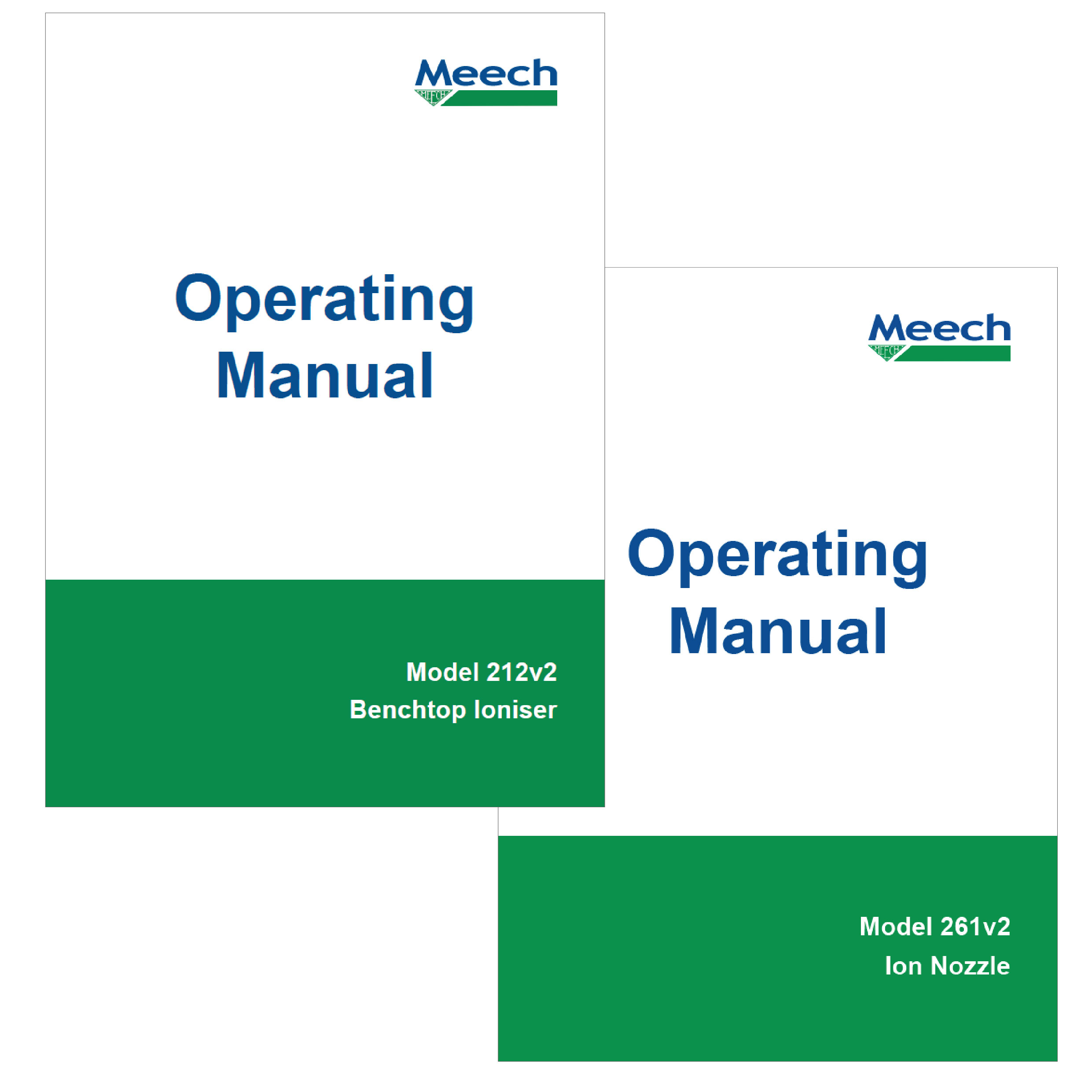 200 Series Operating Manuals